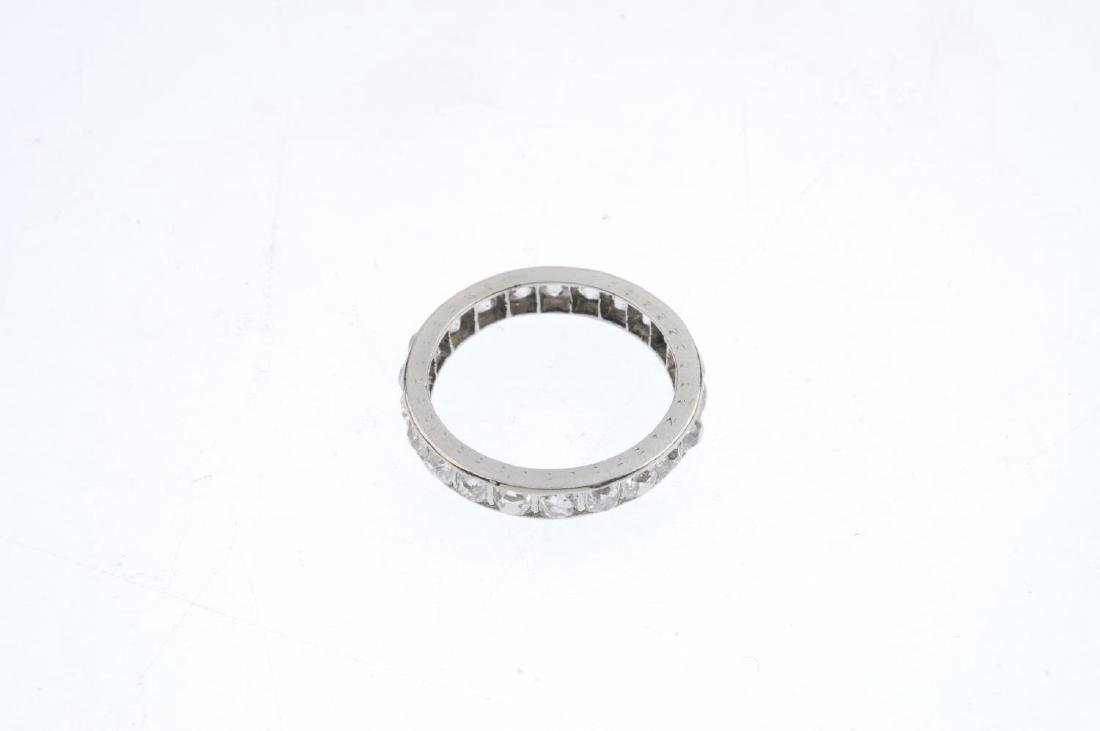 A diamond full eternity ring. Designed as an old-cut - 2