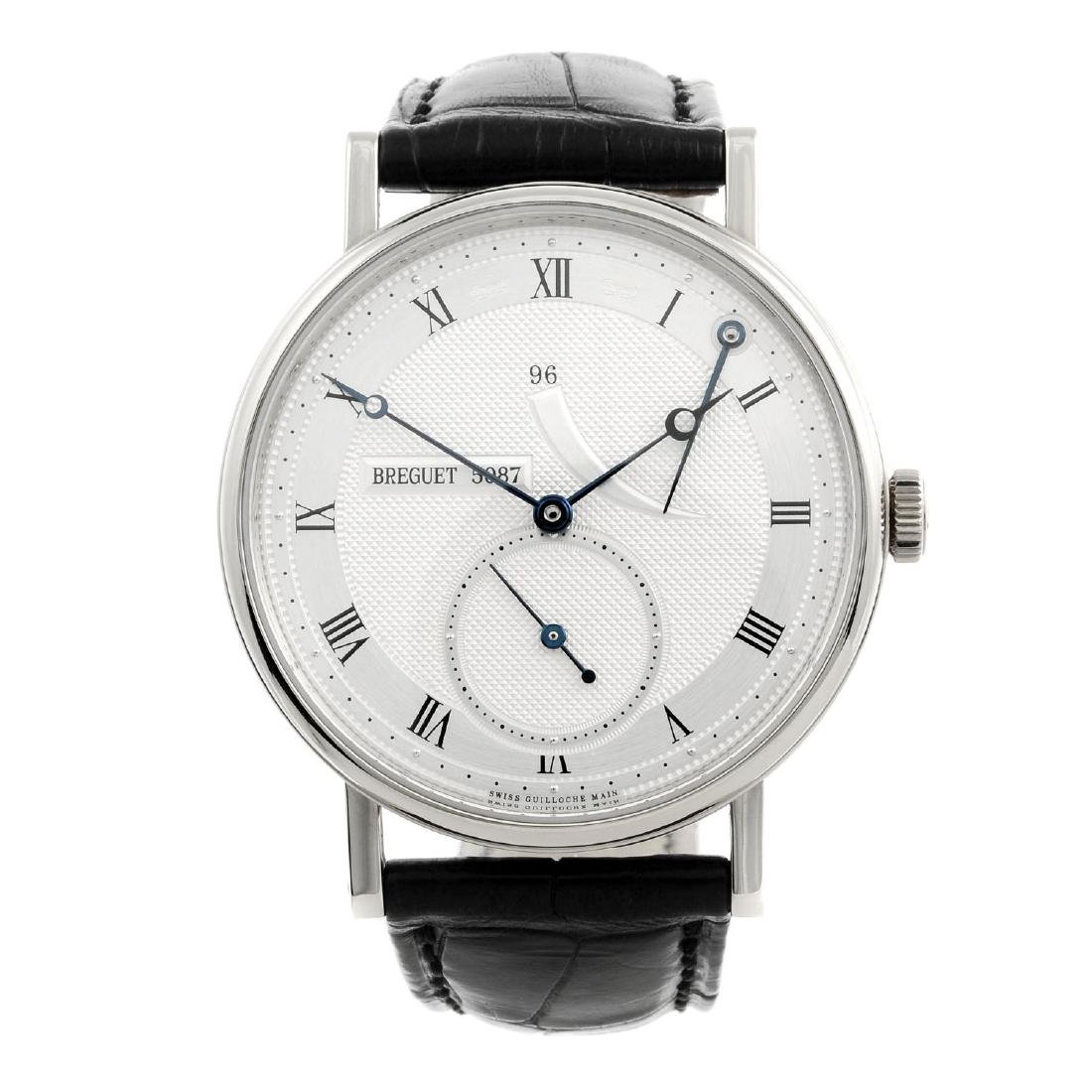 BREGUET - a gentleman's Classique wrist watch. 18ct