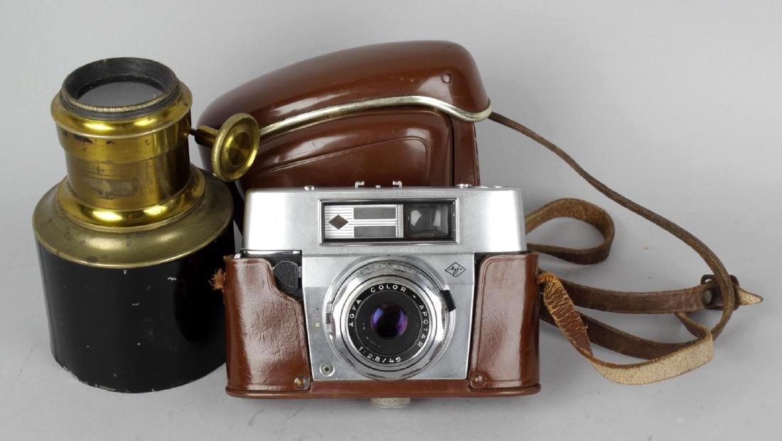 An Eastman Kodak Co No4 cartridge Kodak with burgundy