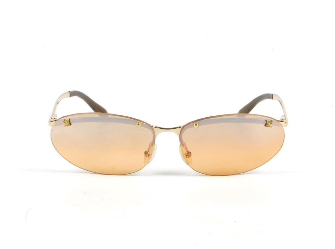 CÉLINE - a pair of rimless sunglasses. Designed with - 3