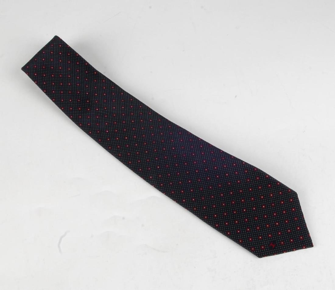 CHANEL - two ties. To include a blue example with light - 2