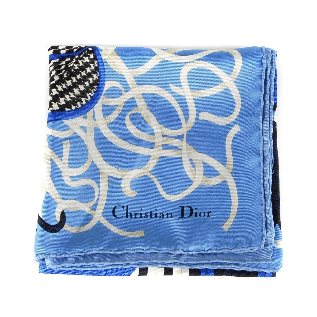 CHRISTIAN DIOR - a silk scarf. Featuring a selection of