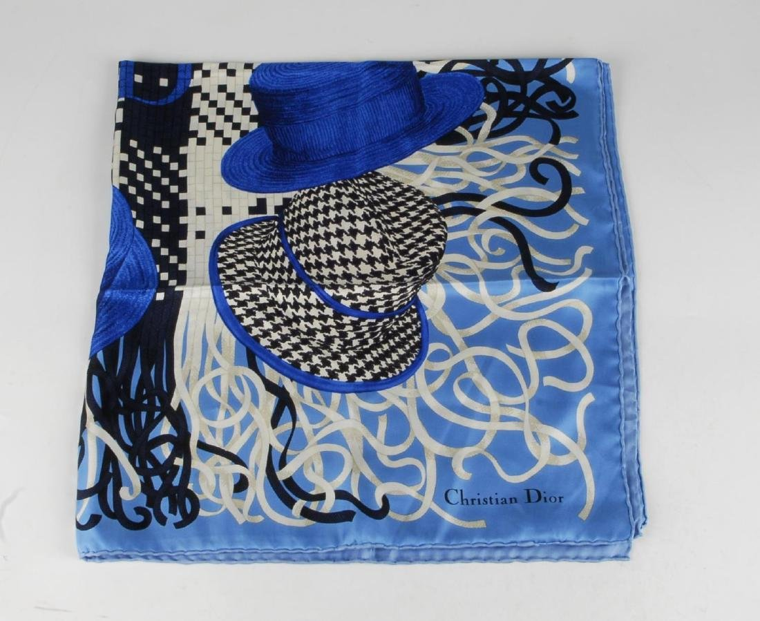 CHRISTIAN DIOR - a silk scarf. Featuring a selection of - 2
