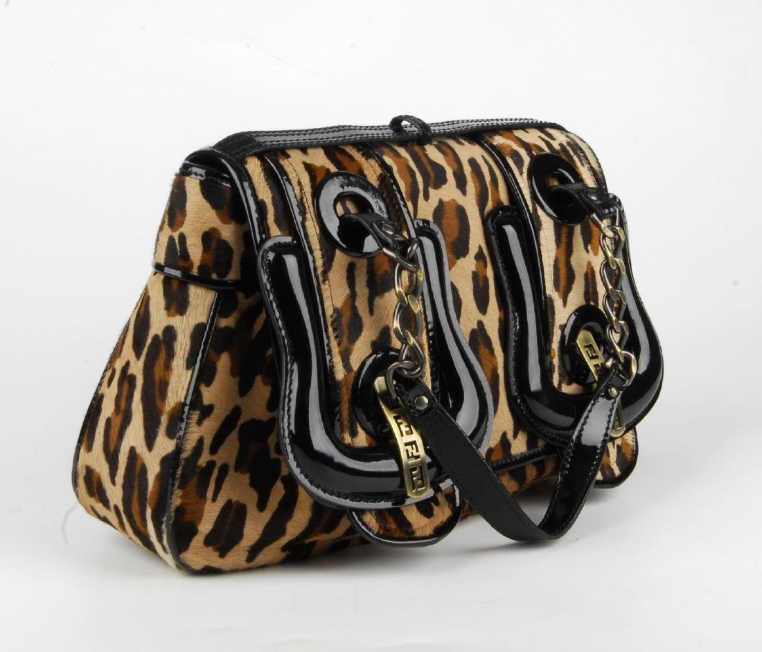 FENDI - a Double Buckle Flap handbag. Featuring a - 4