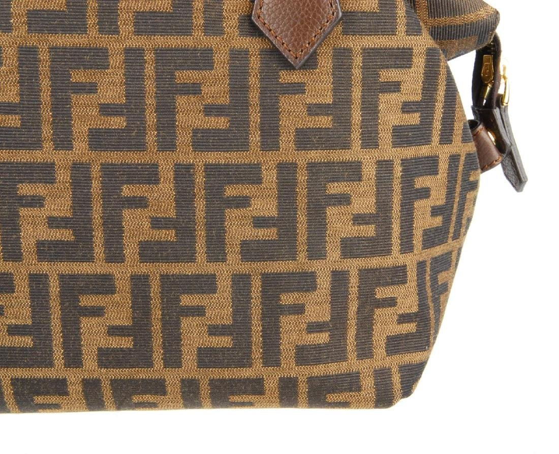 FENDI - a Zucca handbag. Crafted from maker's classic - 2