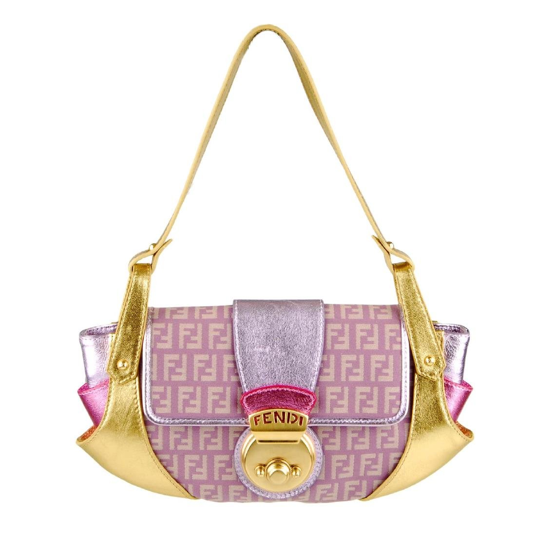 FENDI - a Borsa Tuc baguette handbag. Crafted from