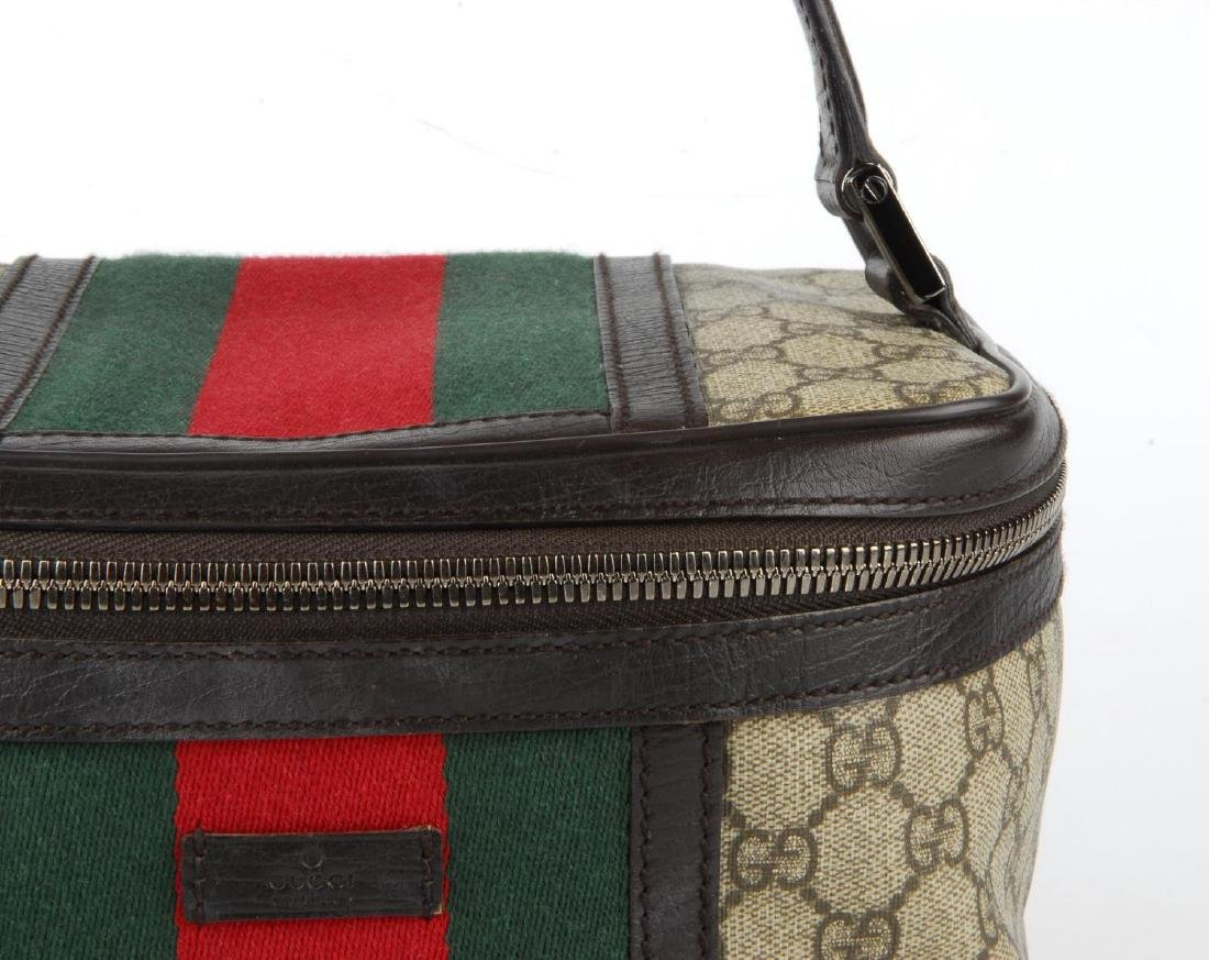 GUCCI - a Supreme Web cosmetics travel bag. Crafted - 2
