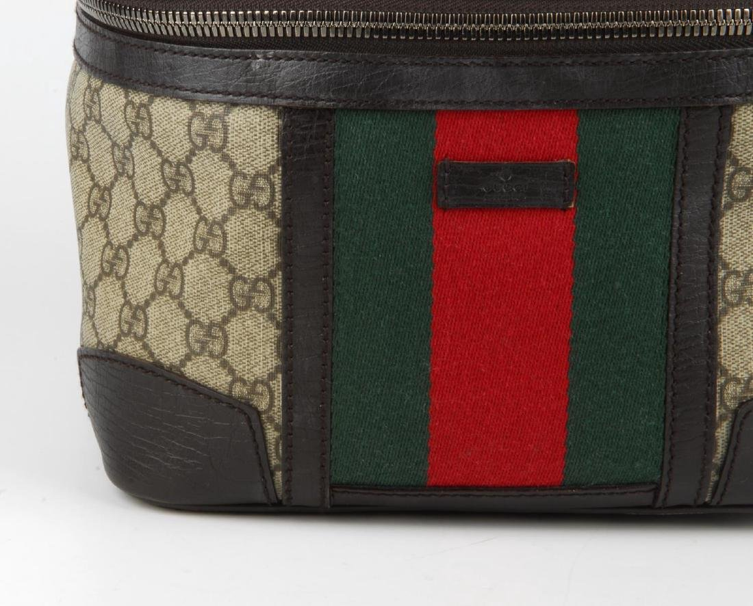 GUCCI - a Supreme Web cosmetics travel bag. Crafted - 3