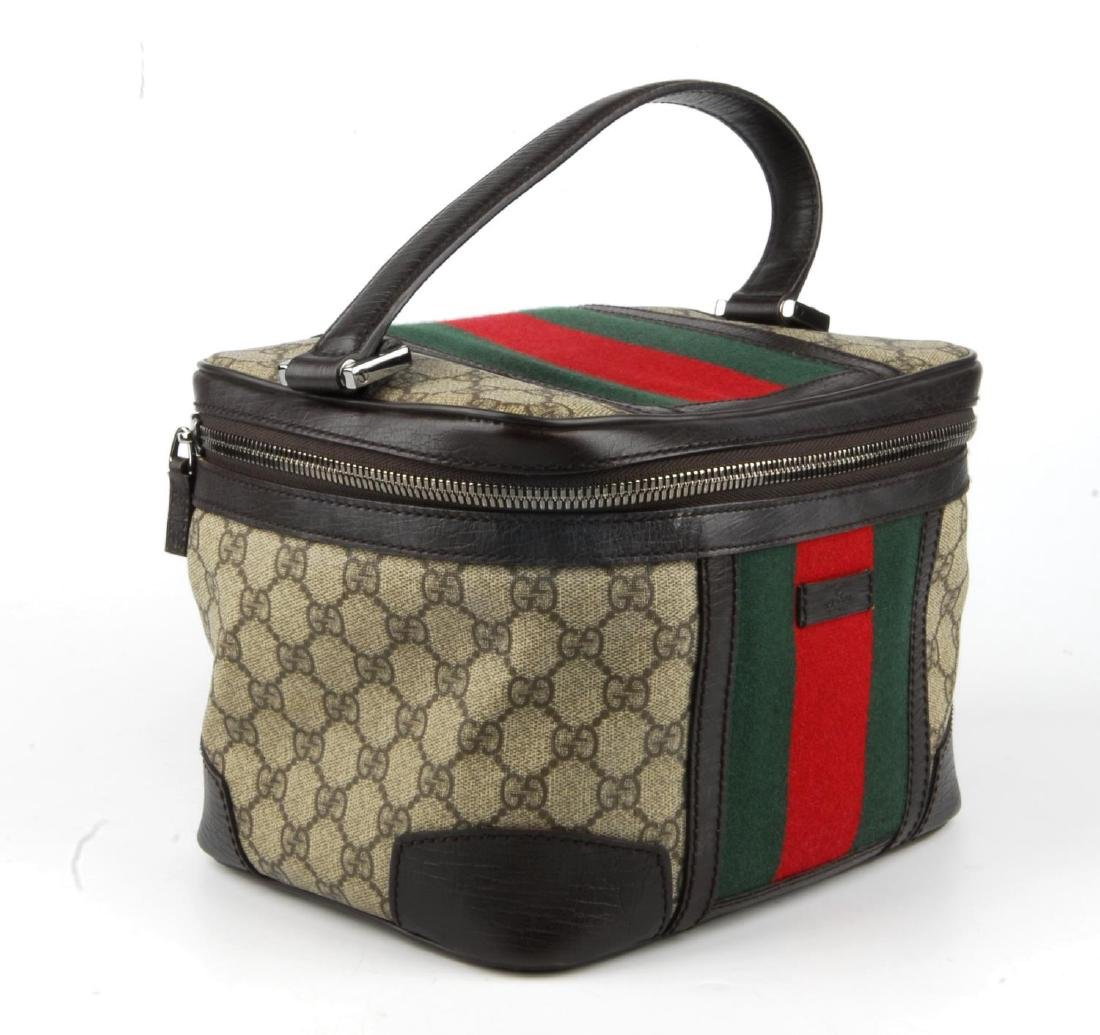 GUCCI - a Supreme Web cosmetics travel bag. Crafted - 4