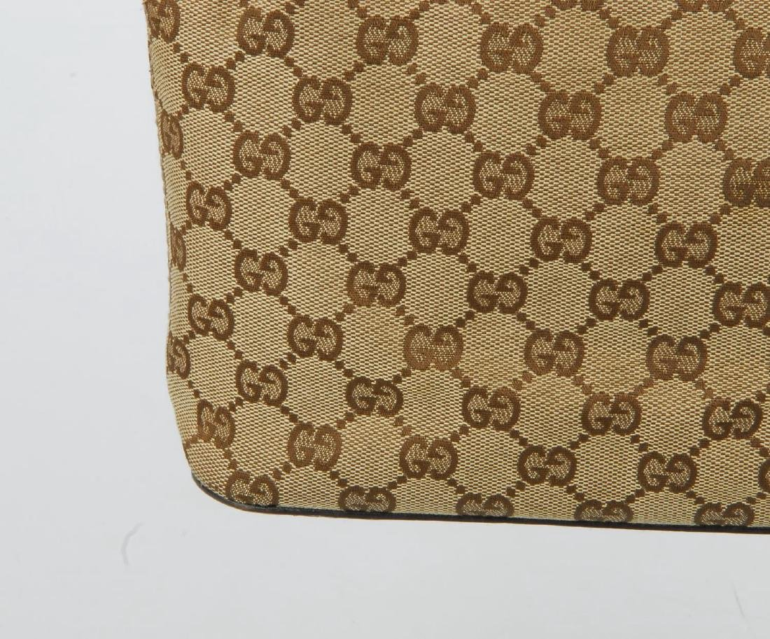 GUCCI - a Monogram canvas handbag. Designed with - 3