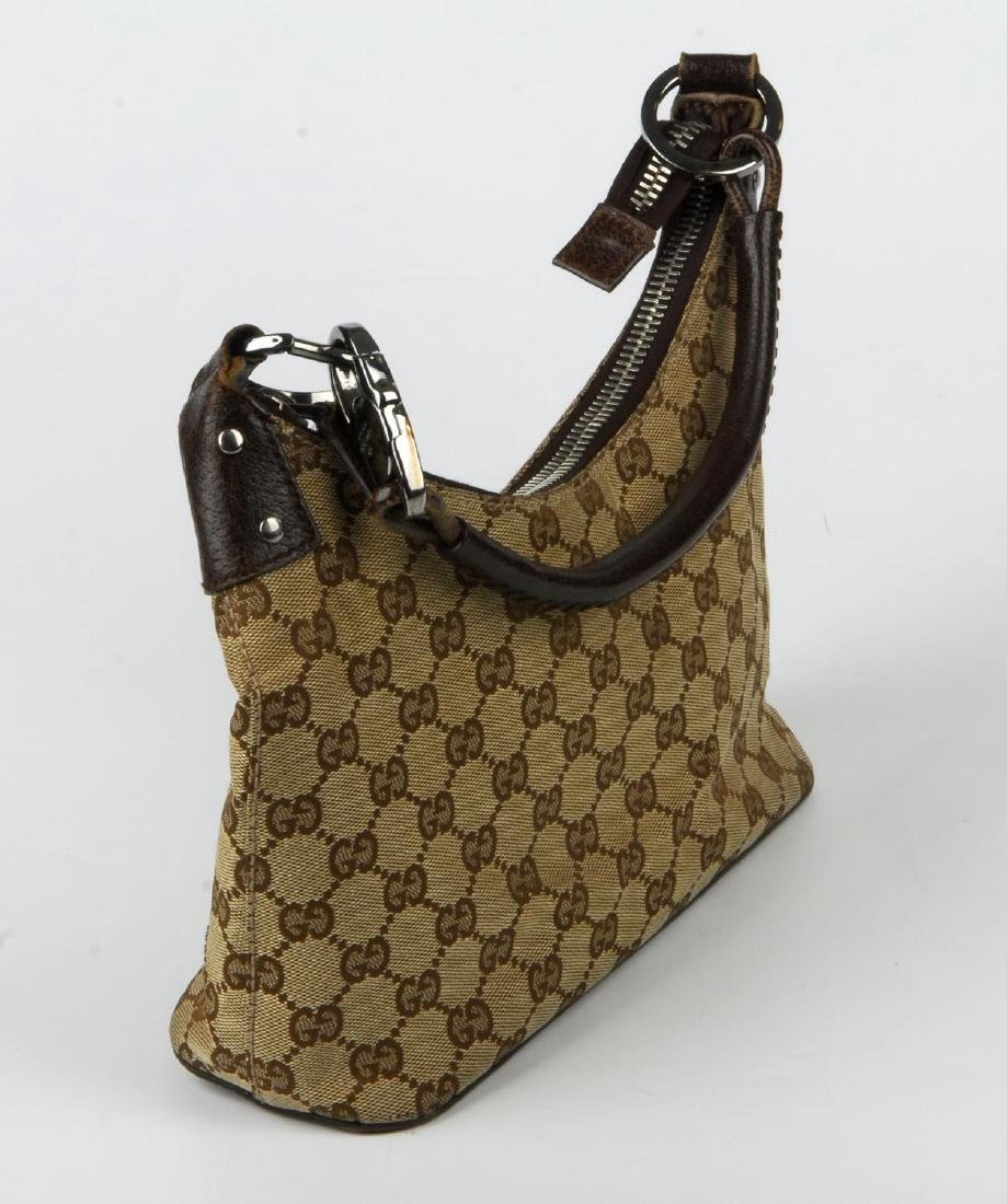 GUCCI - a Monogram canvas handbag. Designed with - 6