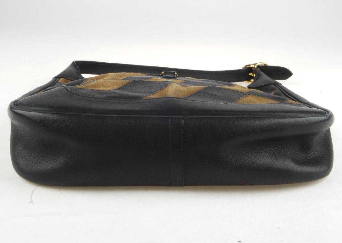 HERMÈS - a Trim handbag. Crafted from brown canvas and - 4