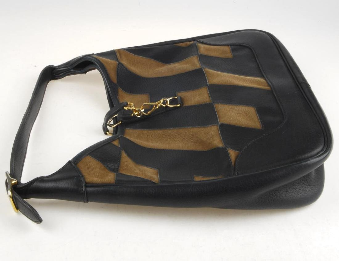 HERMÈS - a Trim handbag. Crafted from brown canvas and - 5