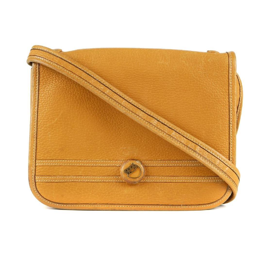 HERMÈS - a vintage Sac Besace handbag. Crafted from