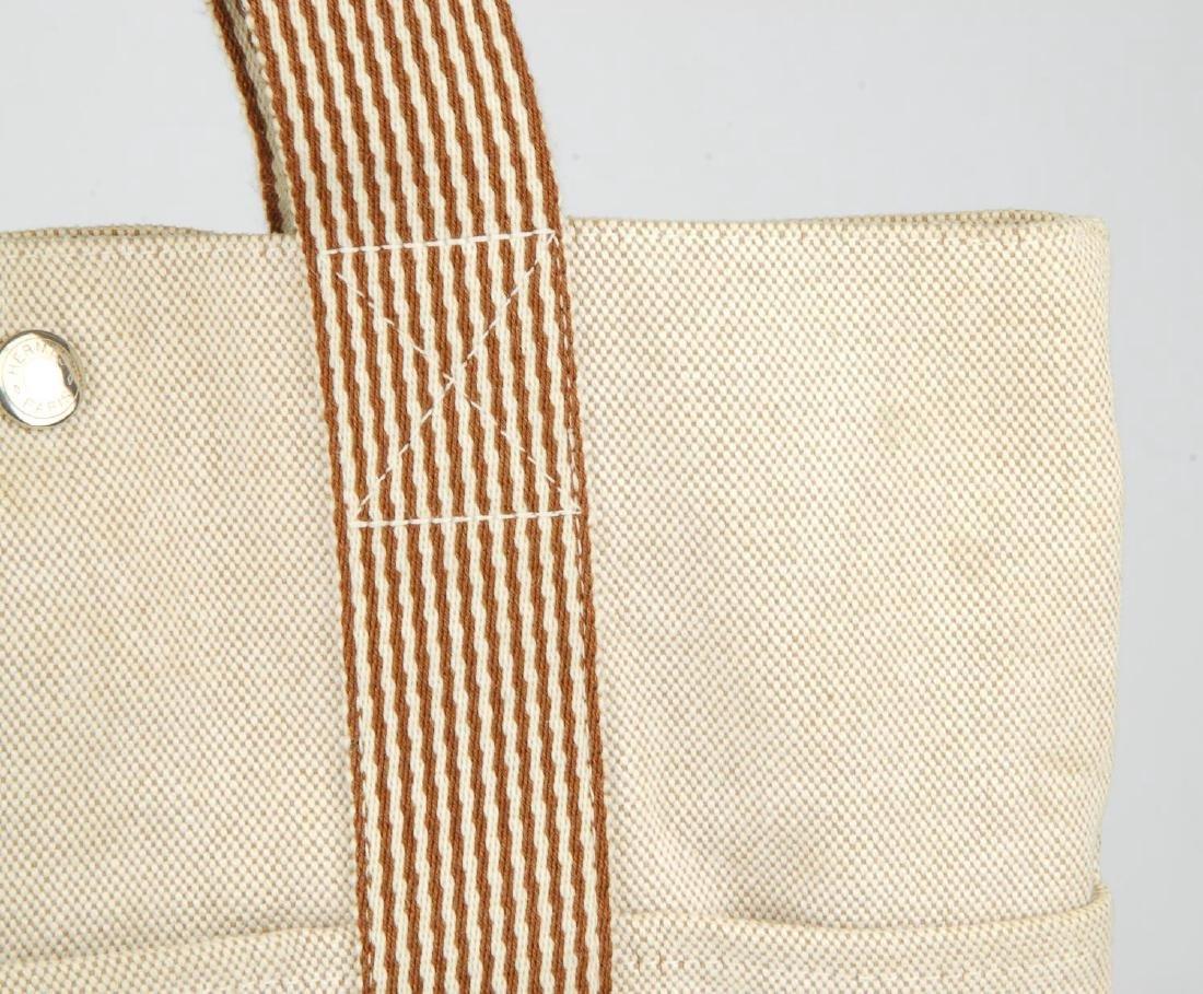 HERMÈS - two Fourre Tout canvas handbags. Both of a - 10