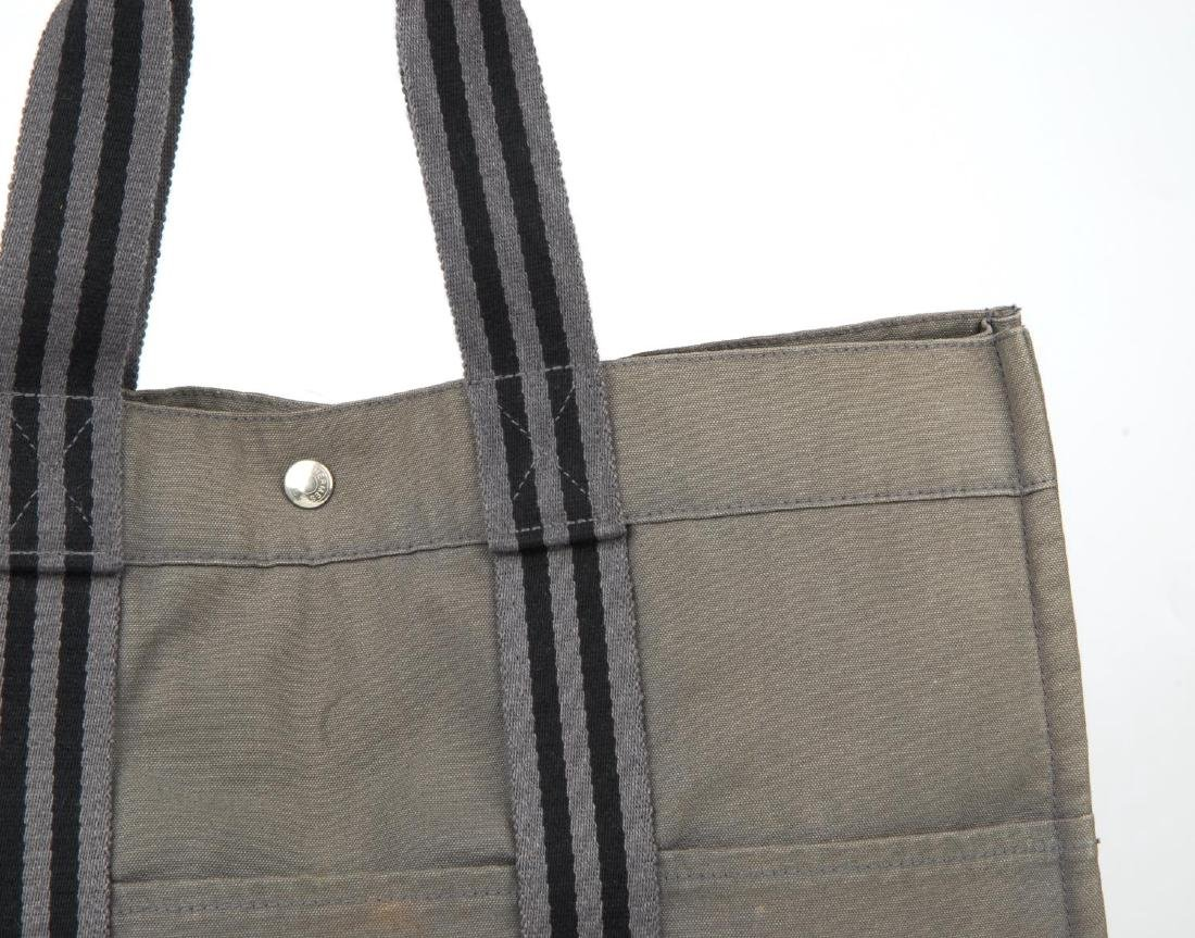 HERMÈS - a Fourre Tout canvas GM handbag. Crafted from - 2