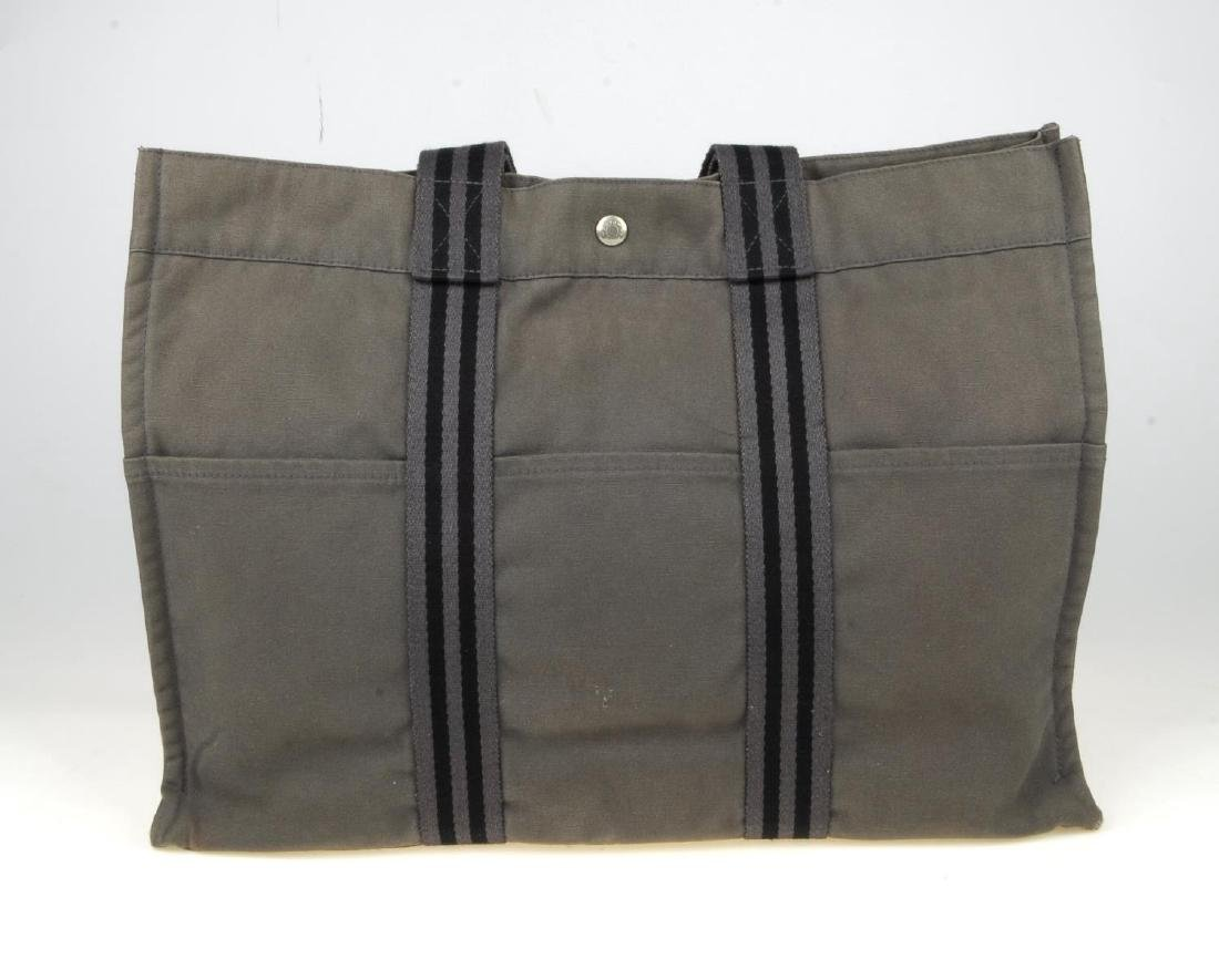 HERMÈS - a Fourre Tout canvas GM handbag. Crafted from - 5