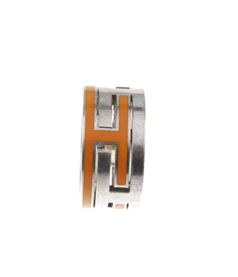 HERMÈS - a Move H ring. The silver-tone ring, designed - 3
