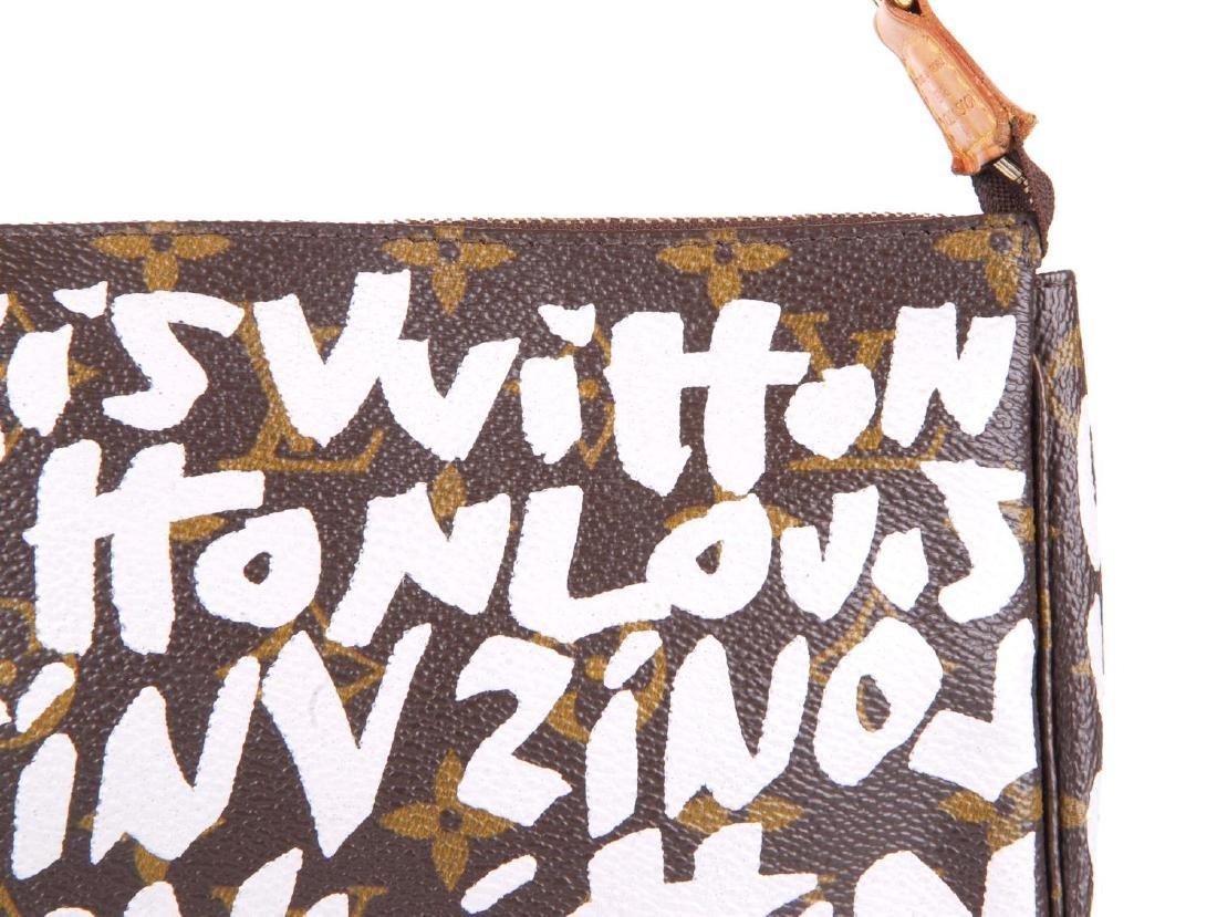 LOUIS VUITTON - a Monogram Graffiti Pochette - 2