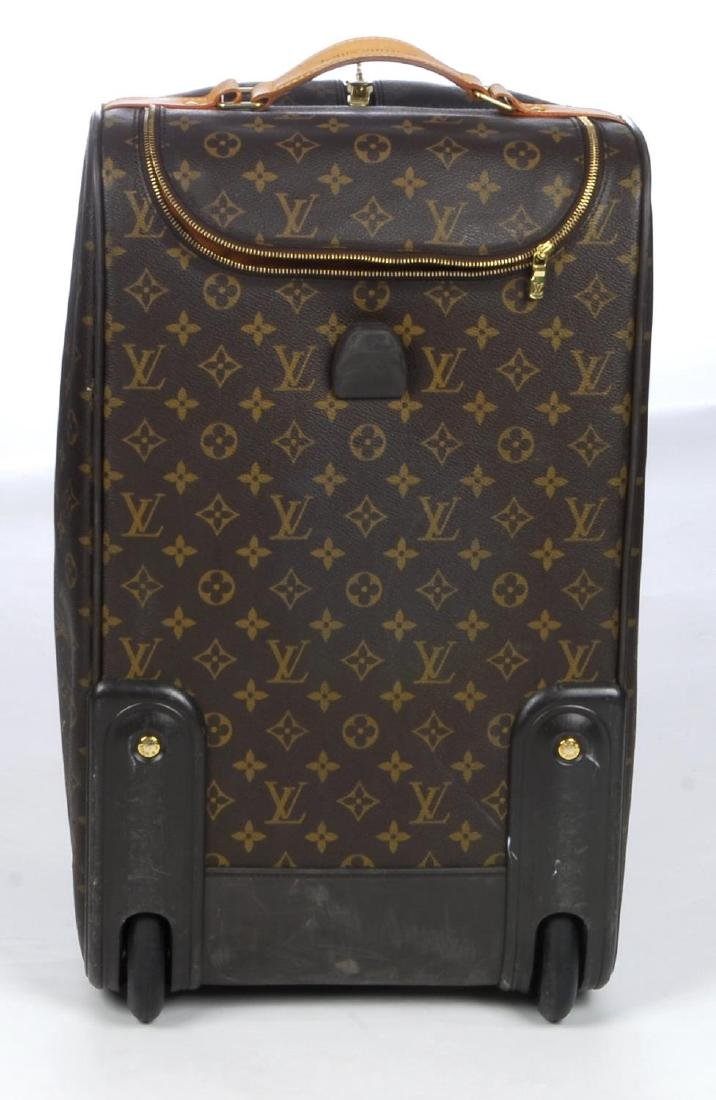 LOUIS VUITTON - a Monogram Eole 50 rolling duffle bag. - 3