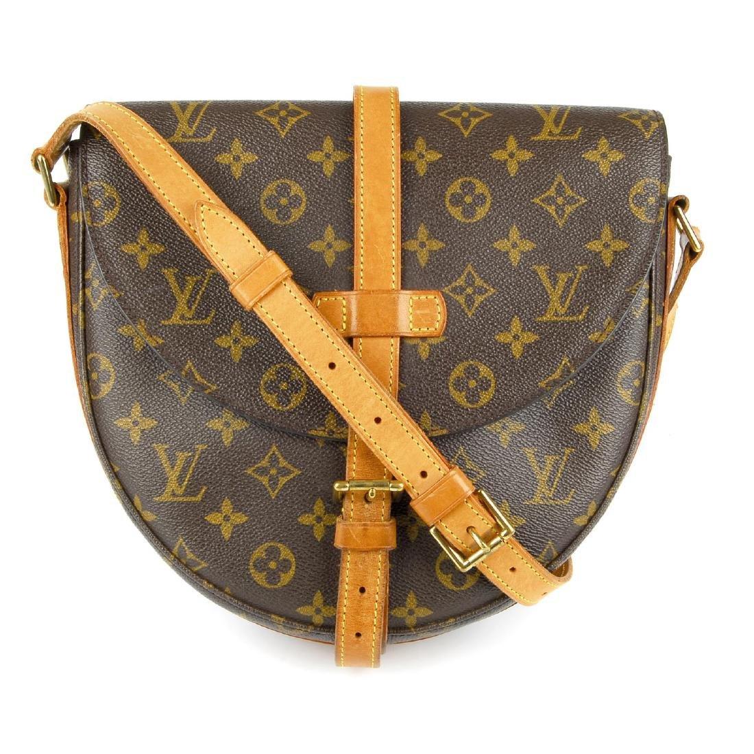 LOUIS VUITTON - a Monogram Chantilly crossbody handbag.