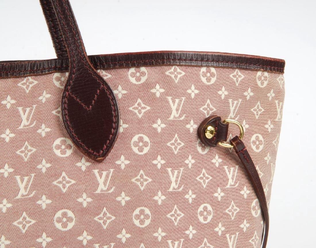 LOUIS VUITTON - a burgundy Idylle Neverfull MM handbag. - 2