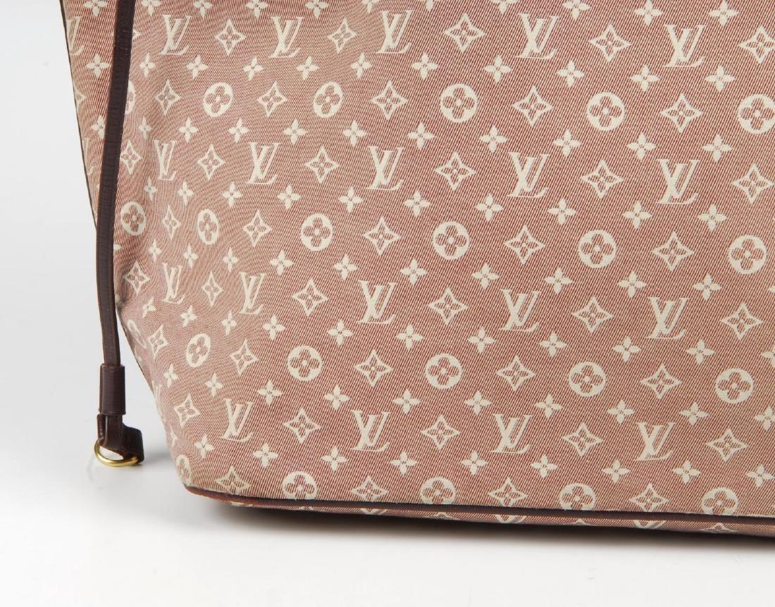 LOUIS VUITTON - a burgundy Idylle Neverfull MM handbag. - 3