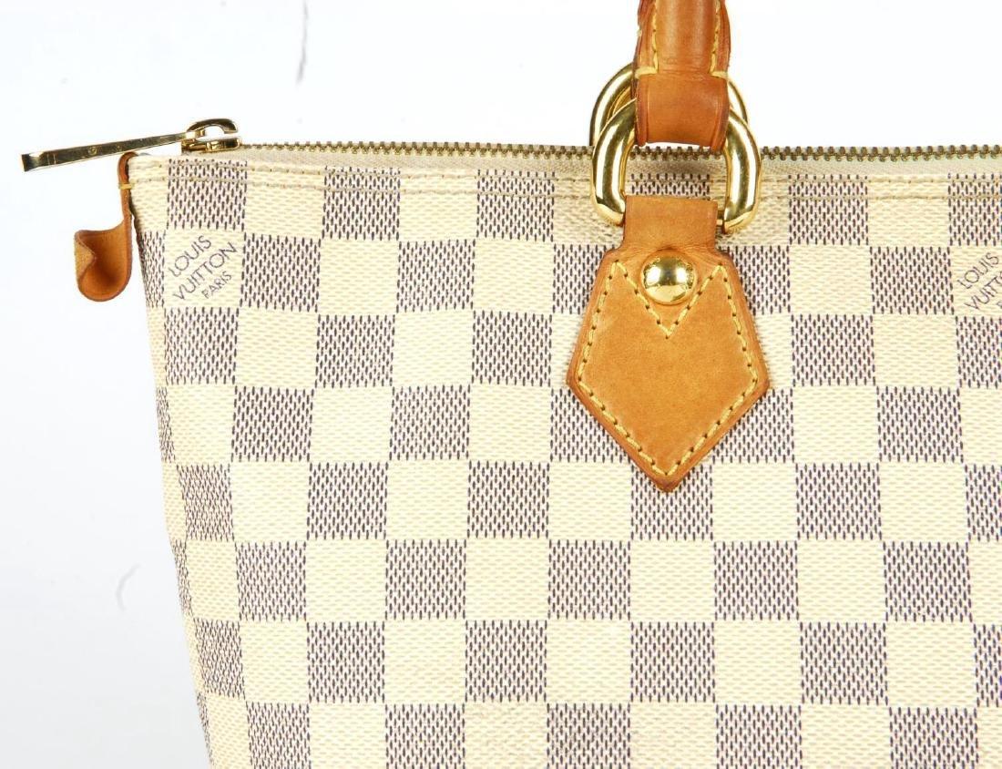 LOUIS VUITTON - a Damier Azur Saleya handbag and a - 2