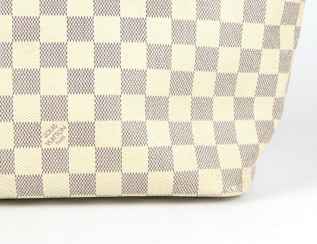 LOUIS VUITTON - a Damier Azur Saleya handbag and a - 3