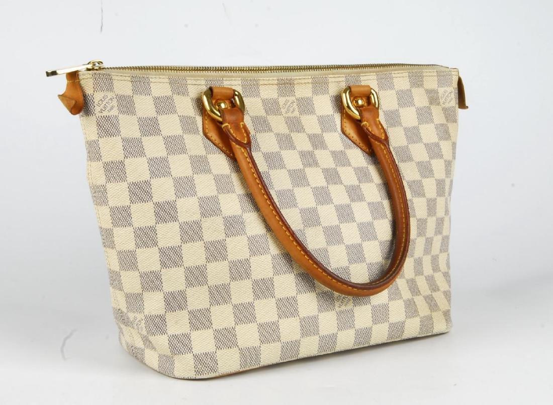 LOUIS VUITTON - a Damier Azur Saleya handbag and a - 4