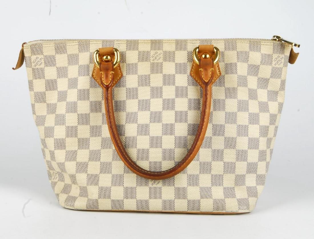 LOUIS VUITTON - a Damier Azur Saleya handbag and a - 5