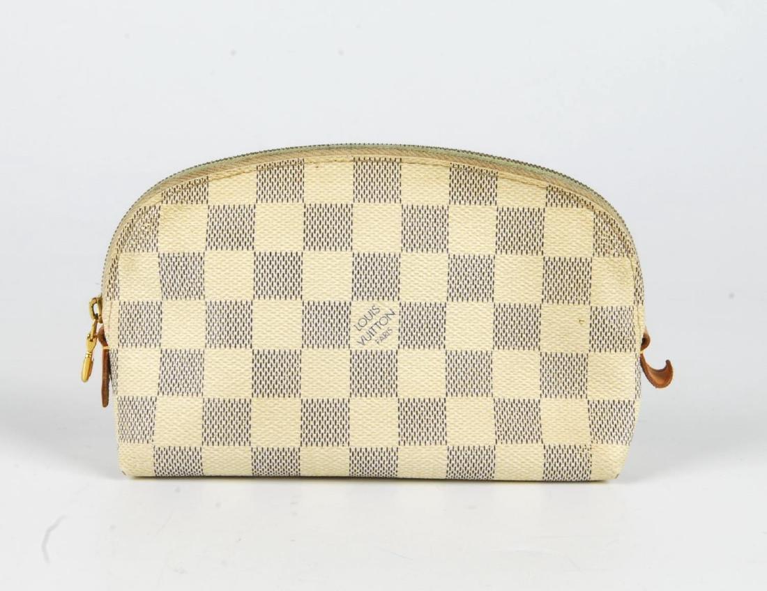 LOUIS VUITTON - a Damier Azur Saleya handbag and a - 6