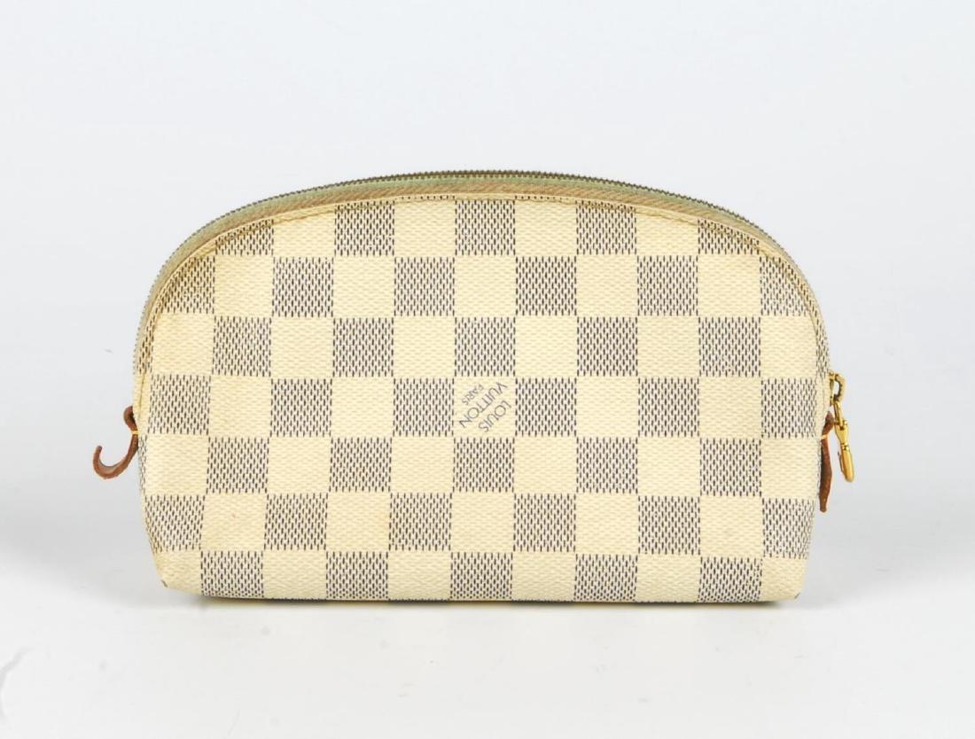 LOUIS VUITTON - a Damier Azur Saleya handbag and a - 7