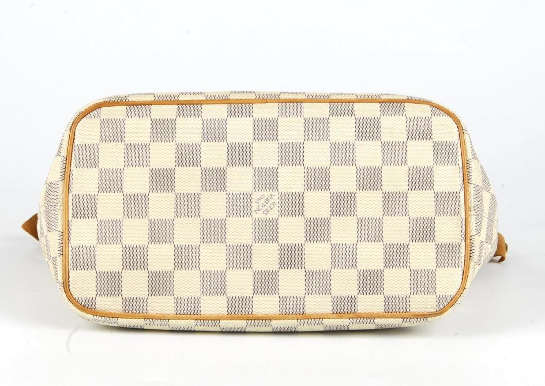 LOUIS VUITTON - a Damier Azur Saleya handbag and a - 9