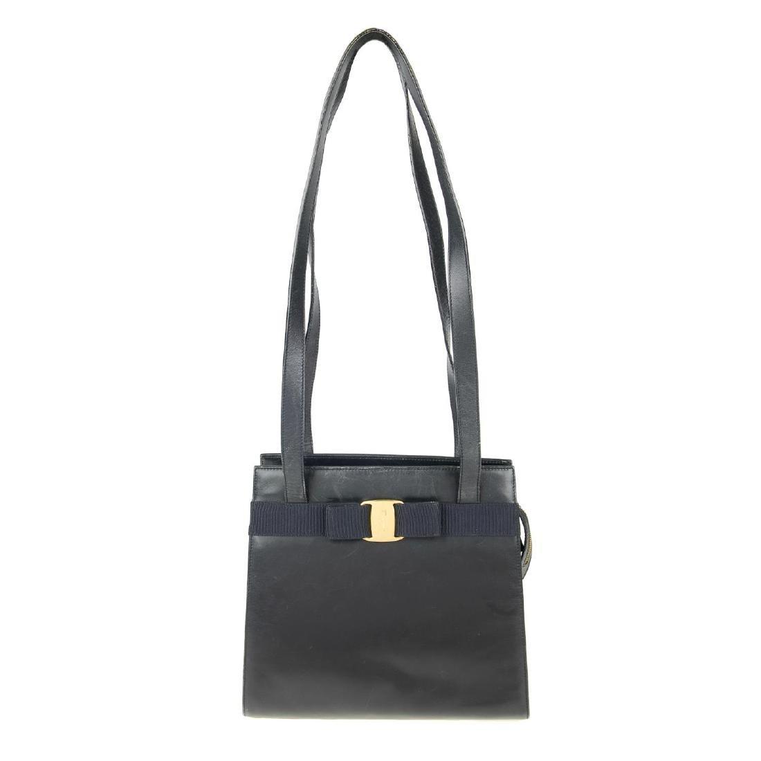 SALVATORE FERRAGAMO - a small Vara handbag. Designed