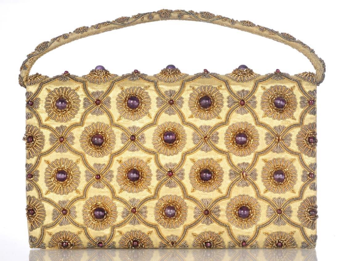 An early 20th century gem-set evening handbag - 3