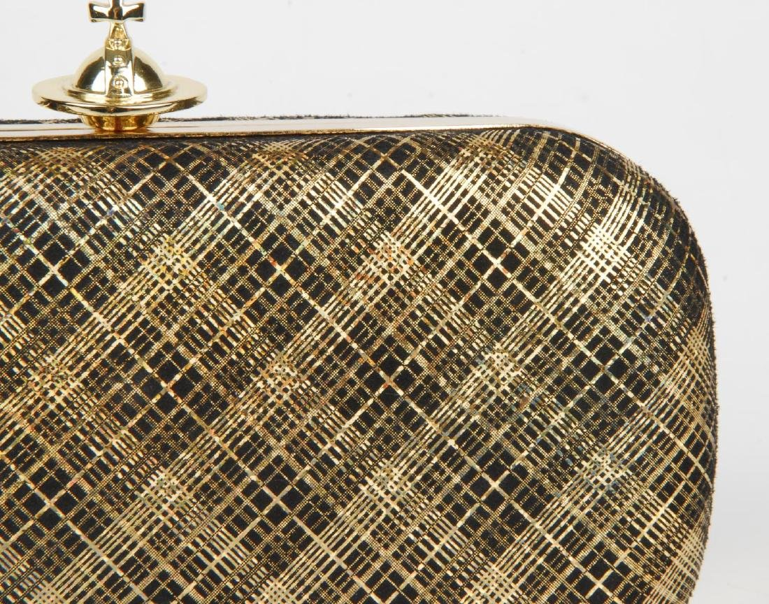 VIVIENNE WESTWOOD - a Galles plaid clutch. Designed - 2