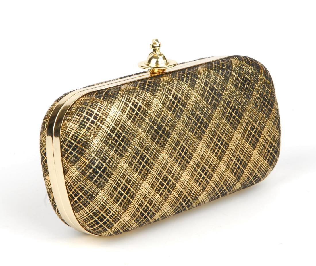 VIVIENNE WESTWOOD - a Galles plaid clutch. Designed - 4