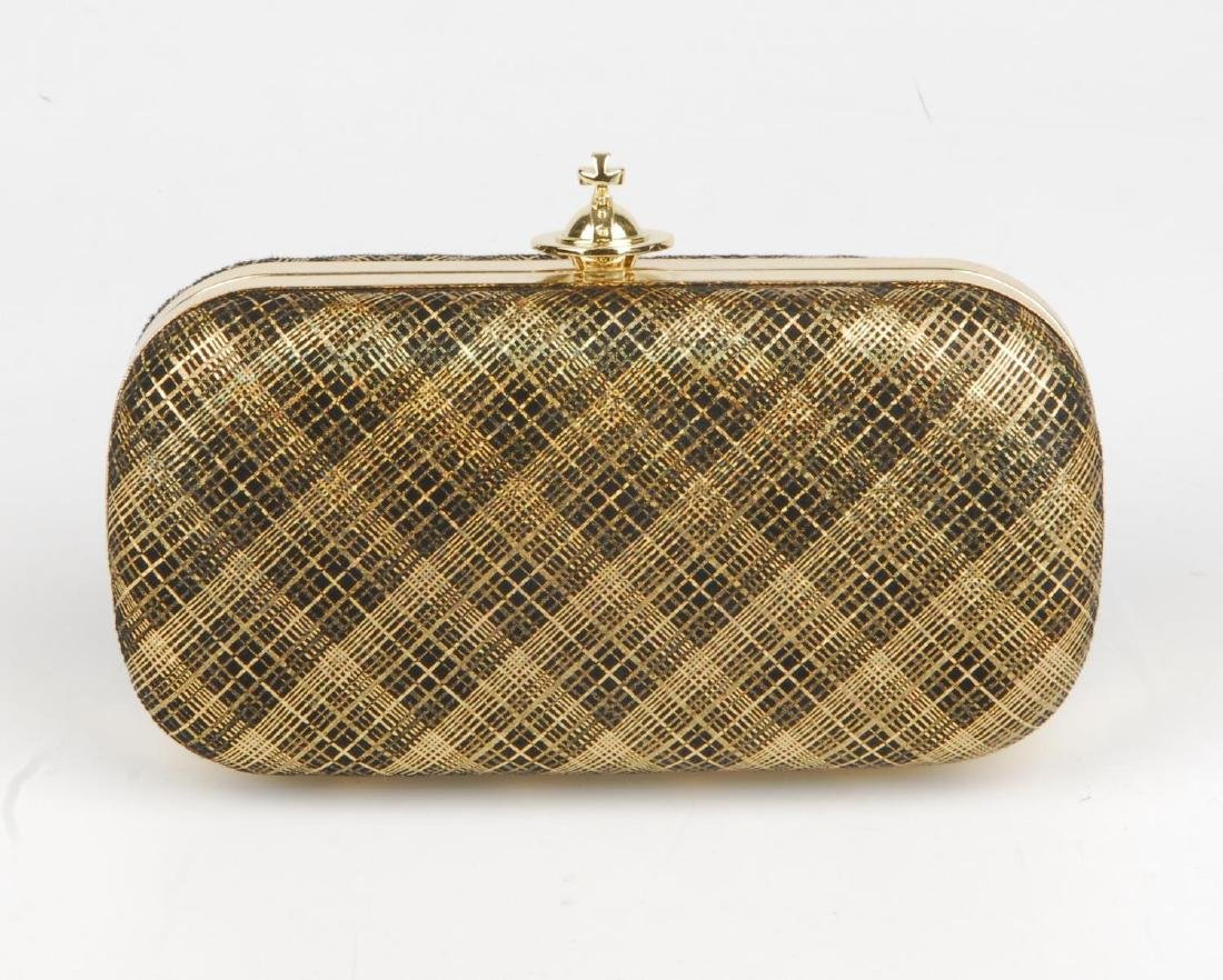 VIVIENNE WESTWOOD - a Galles plaid clutch. Designed - 5