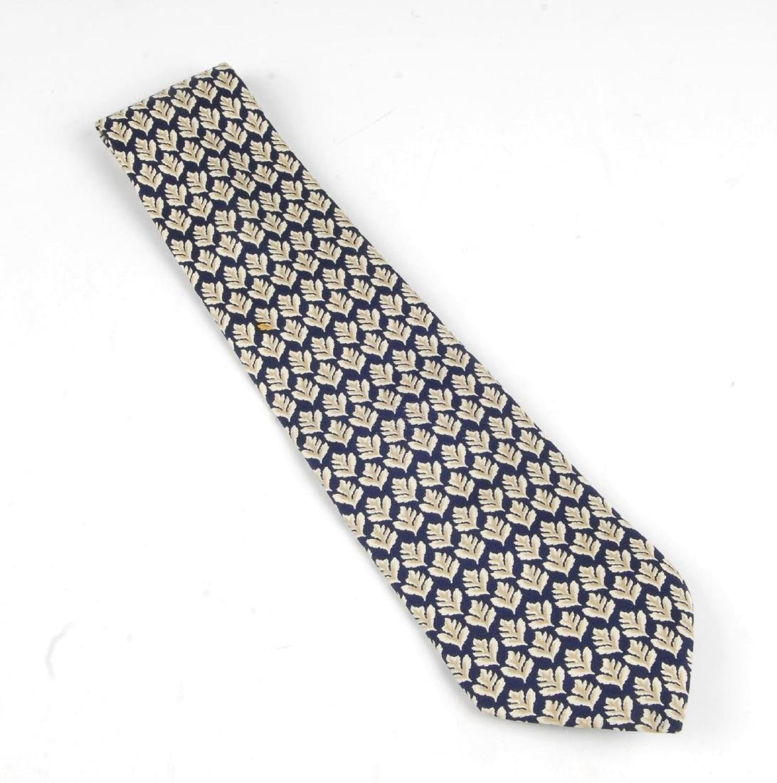 Eight ties. To include two Lanvin ties, one - 4