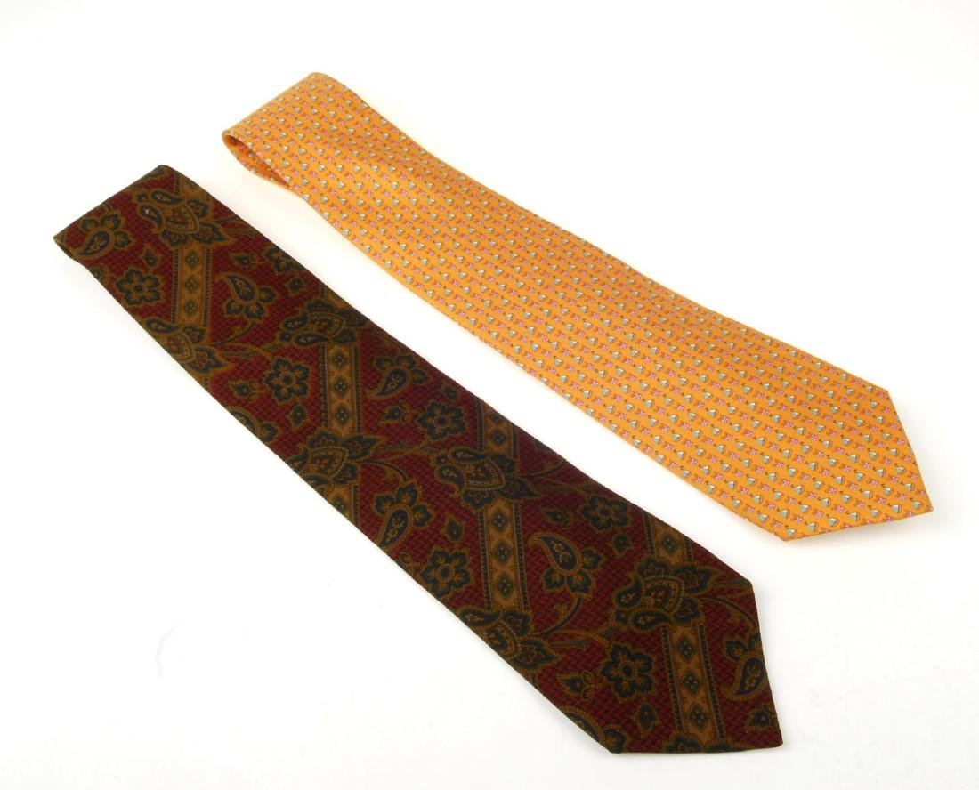 Eight ties. To include three Céline ties, two Gucci - 3