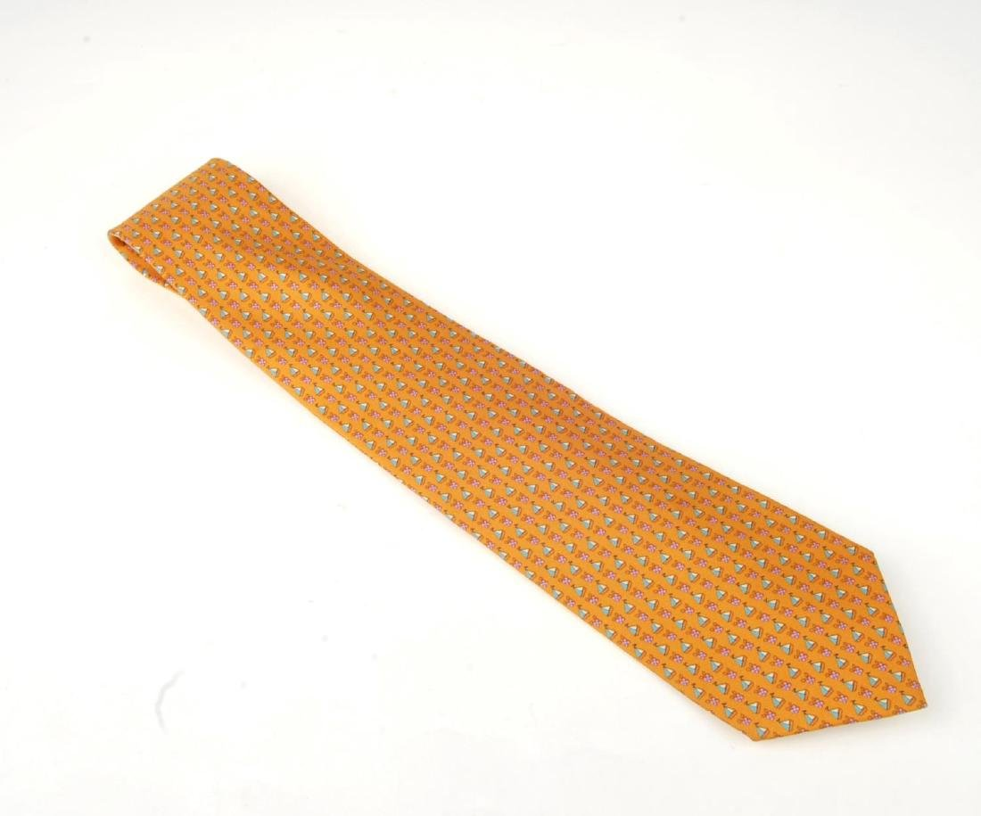 Eight ties. To include three Céline ties, two Gucci - 4