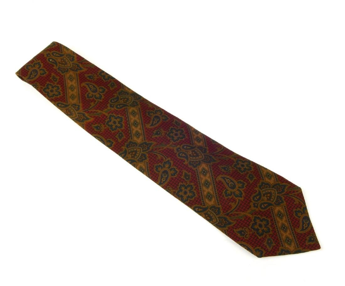 Eight ties. To include three Céline ties, two Gucci - 5