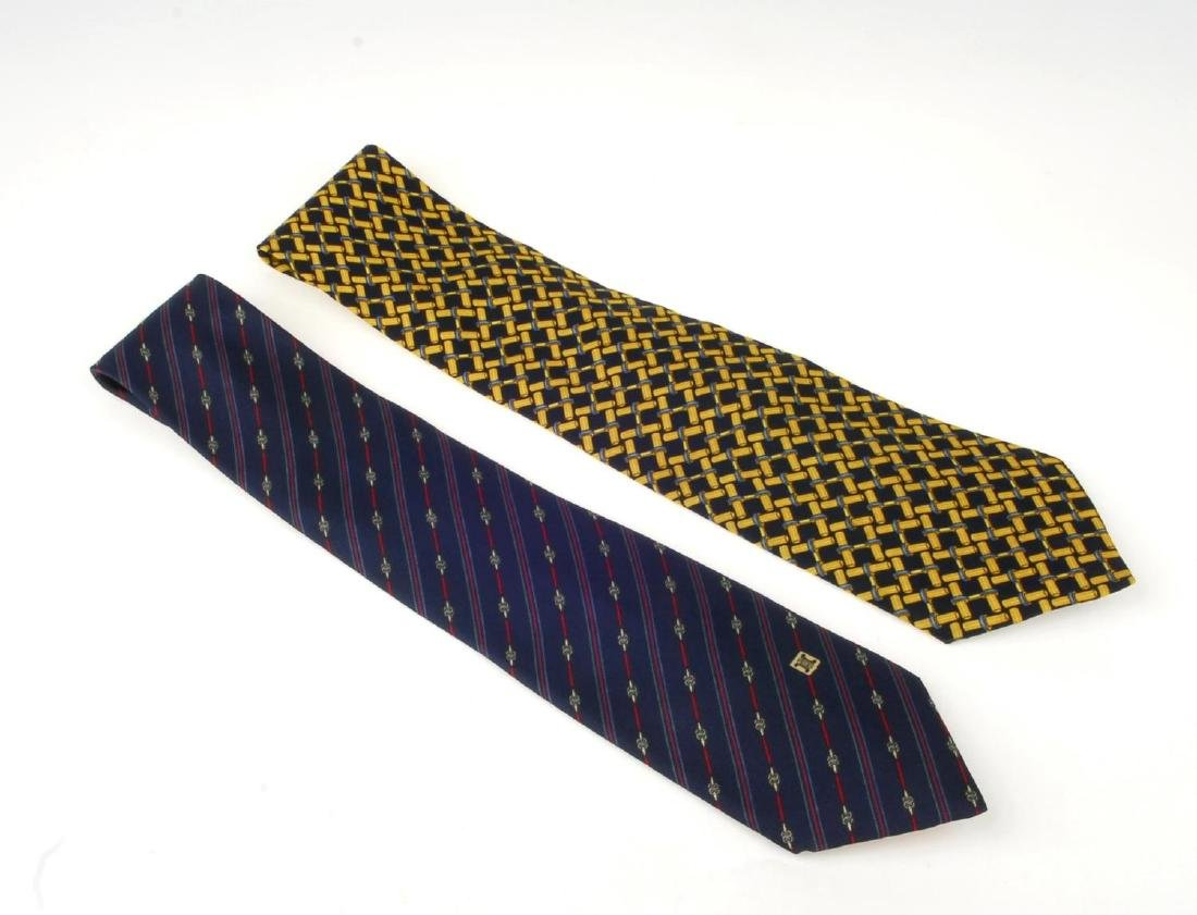 Eight ties. To include three Céline ties, two Gucci - 6