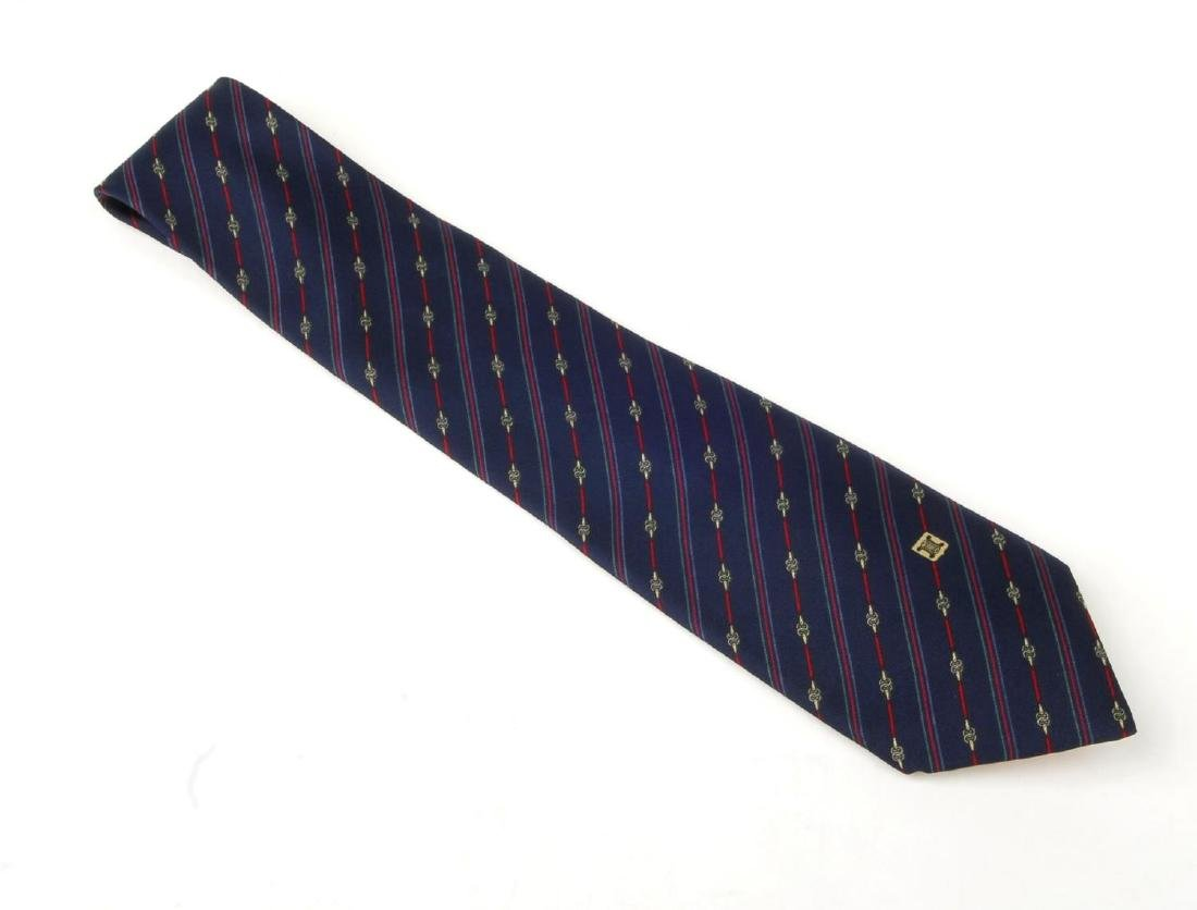 Eight ties. To include three Céline ties, two Gucci - 8