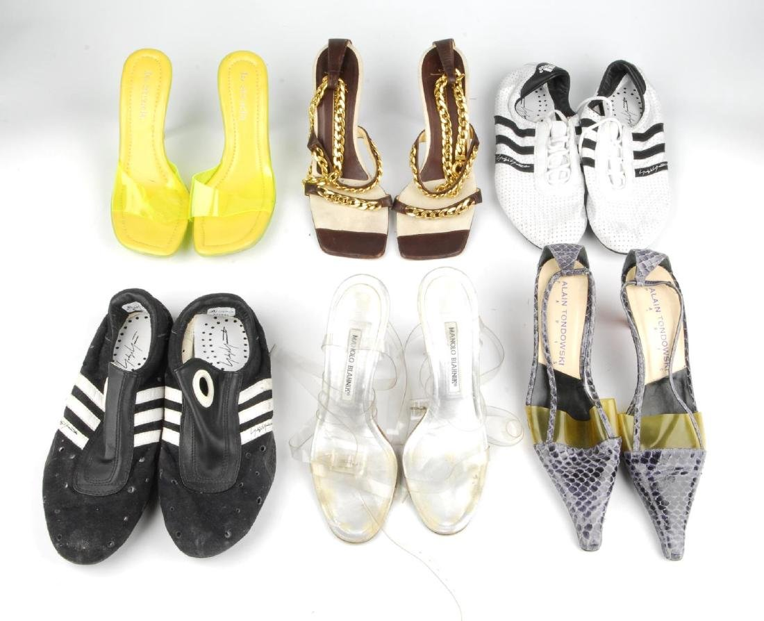Eight pairs of women's designer shoes. To include three - 3