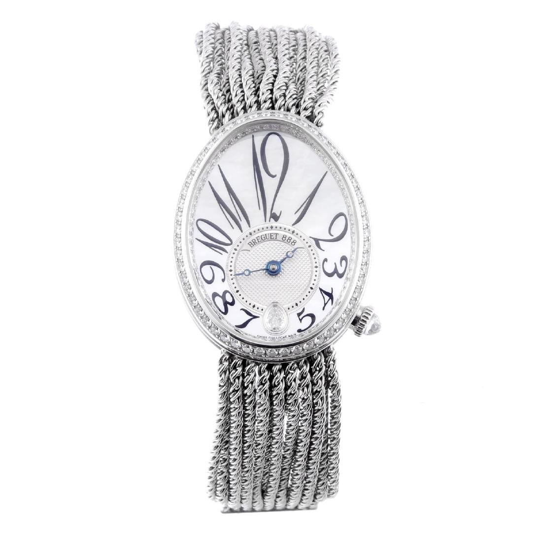 BREGUET - a lady's Reine De Naples bracelet watch. 18ct