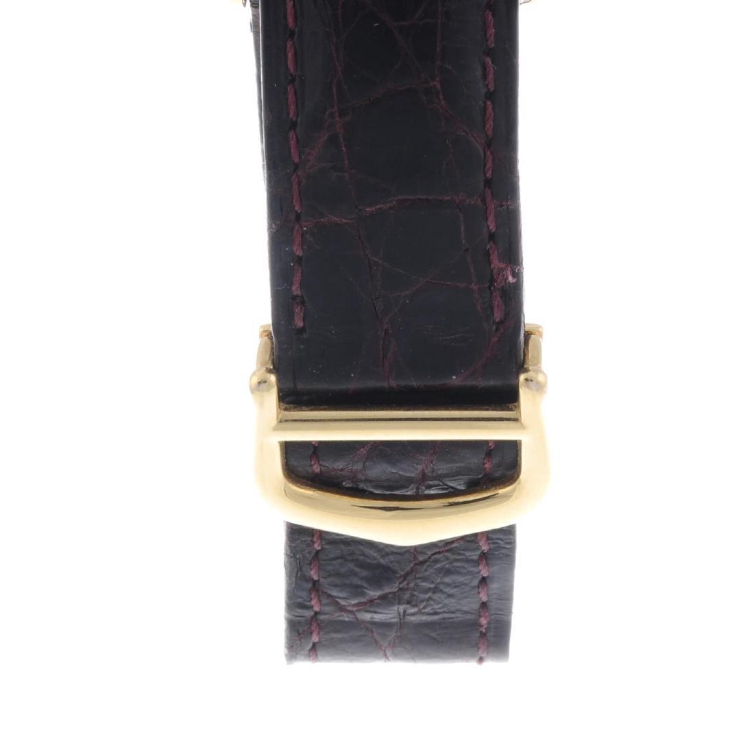 CARTIER - a Must De Cartier Tank wrist watch. Gold - 4