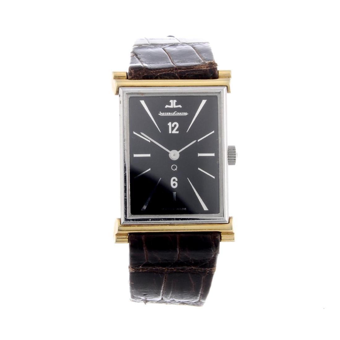 JAEGER-LECOULTRE - a wrist watch. Bi-metal case.