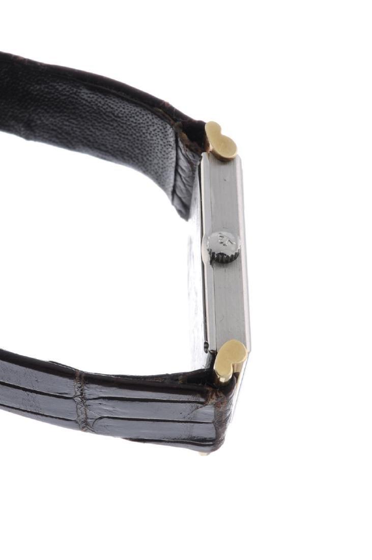 JAEGER-LECOULTRE - a wrist watch. Bi-metal case. - 2
